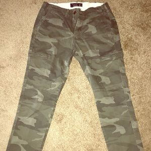 Abercrombie Camouflage Pants